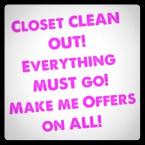 CLEANING OUT MY CLOSET! LET'S MAKE A DEAL